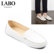 [17 F/W]Mile Calf Laether Loafer_White