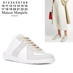 Backless Paneled Sneakers