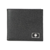 Crown Logo Plaque Billfold Wallet