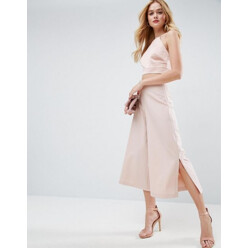 Mix Match Clean Culotte With Side Split