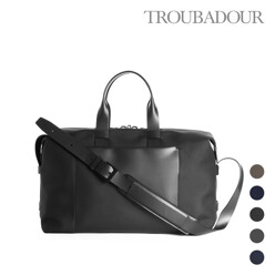 Fabric + Leather Weekender