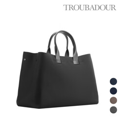 Fabric + Leather Tote