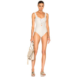Palm Springs Tie Maillot Swimsuit
