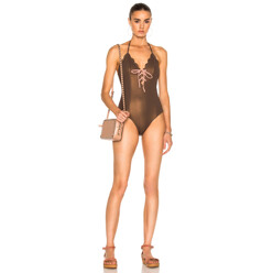 Broadway Tie Maillot Swimsuit