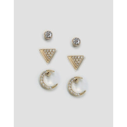 Pave Earring Multi Pack