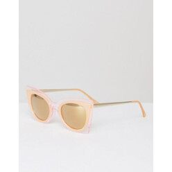Oversized Perspex Cateye Sunglasses