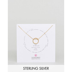 Dogeared Gold Plated The Circle Sliding Ring Remin