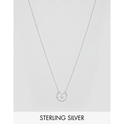 Sterling Silver Horseshoe Star Necklace