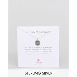 Dogeared Sterling Silver Lady Of Guadalupe Reminde