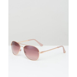 Aviator Sunglasses With Pink Lenses