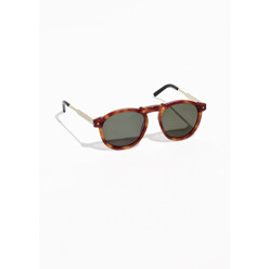 Stud Detail Acetate Sunglasses