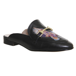 Fizzy Embroidered Flat Loafers