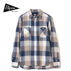 Mccobb Ls Check Field Shirt, Blue