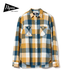 Mccobb Ls Check Field Shirt, Yellow