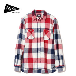 Mccobb Ls Check Field Shirt, Red