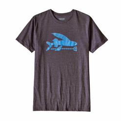 파타고니아 Flying Fish Cotton/Poly T-Shirt - Mens