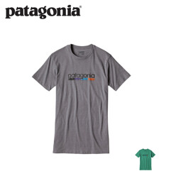 파타고니아 Sidewalk Tiki Cotton/Poly T-Shirt
