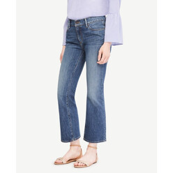 Flare Crop Jeans