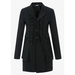Comme Des Garcons Ruffle Layered Coat