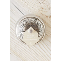 S Boho Embossed Tin Candle