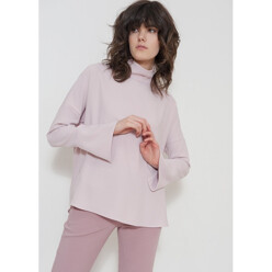 Dusty Pink Crepe Blouse