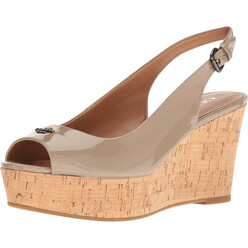 Ferry Women Open Toe Synthetic Wedge Heel