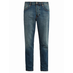 Mid-Rise Carrot-Fit Jeans