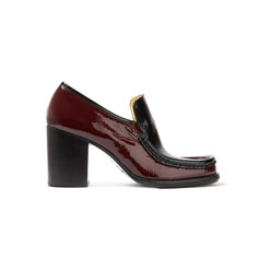 Kenia Two-Tone Patent-Leather Pumps
