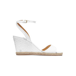 Marion Quilted Leather Wedge Sandals