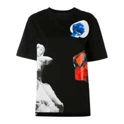 Graphic Sculpture Print T...