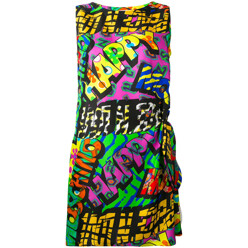 Happy Print Shift Dress