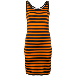 Striped Stretch Jersey Dr...