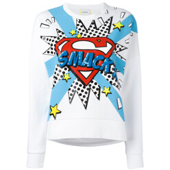 Pop Art-Print Sweatshirt