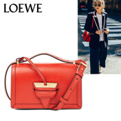 [17 F/W]Loewe Barcelona Small Bag Primary Red