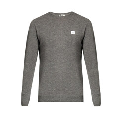 Dasher Face-Patch Wool Sweater