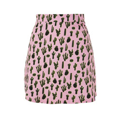 **Cactus A-Line Skirt By Illustrated People