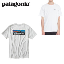파타고니아 P-6 Logo Cotton T-Shirt