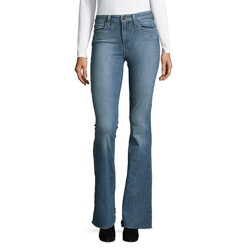 High Rise Flare Denim Jeans