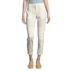 Buttoned Cargo Pants