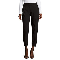 Textured Stretch Pants