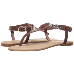 [Made In Italy]Thong Buckle Ankle Strap