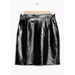 Patent Leather Skirt