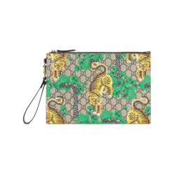 Bengal Tiger Print Pouch