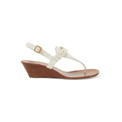 Casey Leather Wedge Sandals