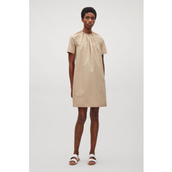 A-Line Dress With Drawstring