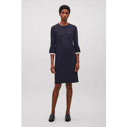 Knitted Dress With Pleate...