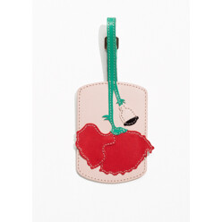 Poppy Leather Luggage Tag