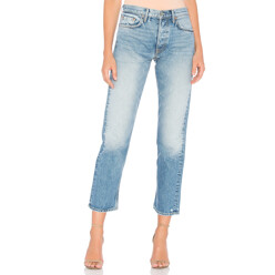 Helena High-Rise Straight Selvedge Jean