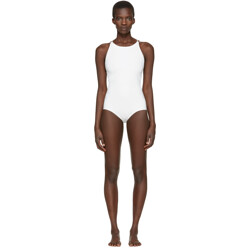 Off-White Halla Open Back Swimsuit