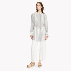 Stripe Belted Tunic